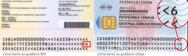 Biometrijska Licna Karta Ne Sadrzi Informaciju O Dvojn